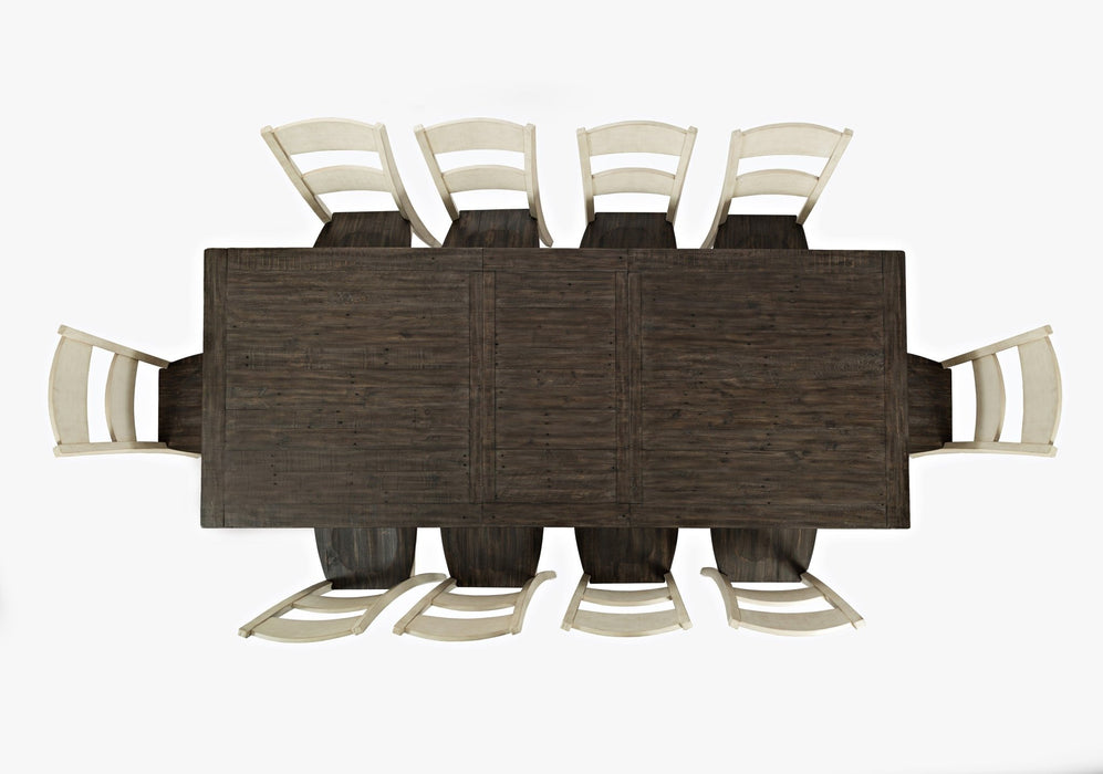Madison County Table & 10 Chairs - Austin's Couch Potatoes Furniture