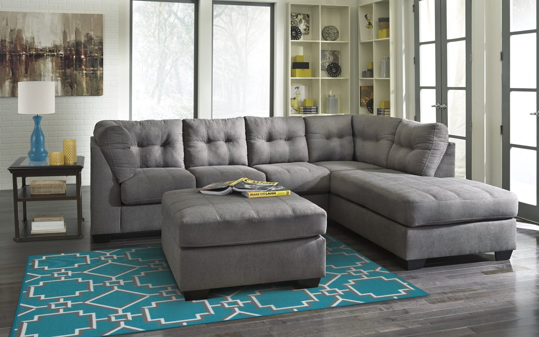 Mayer Right Sectional - Austin's Couch Potatoes Furniture