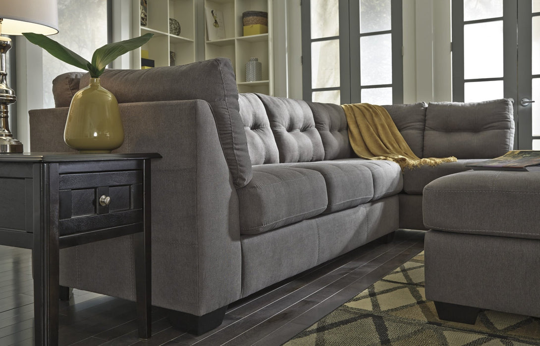 Mayer Right Sleeper Sectional - Austin's Couch Potatoes Furniture