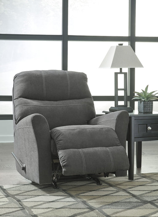 Mayer Rocker Recliner - Austin's Couch Potatoes Furniture