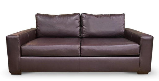 Mesa Leather Deep Sofa - Austin's Couch Potatoes Furniture