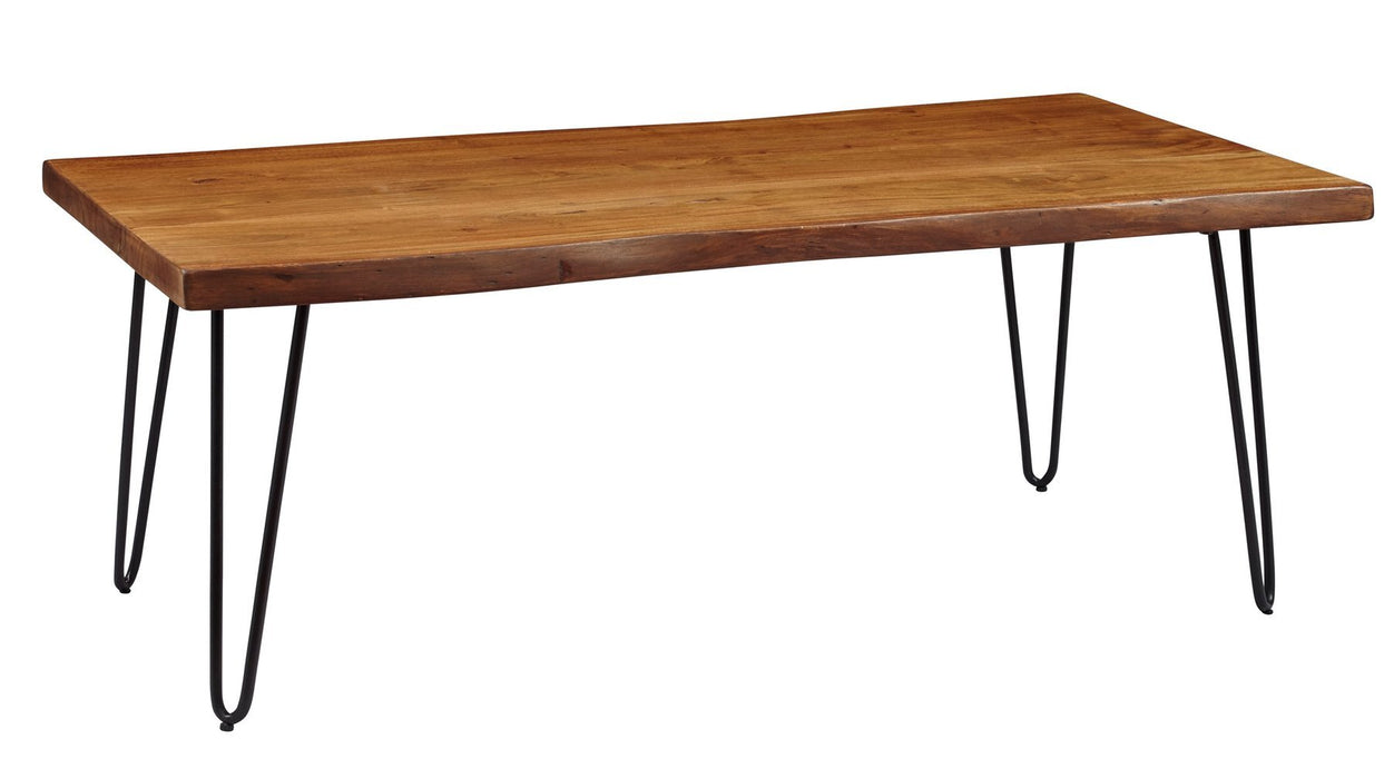 "Natures Edge 79"" Dining Table - Austin's Couch Potatoes Furniture"