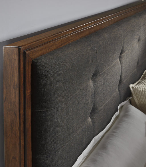 Ralene King Upholstered Storage Bed - Austin's Couch Potatoes Furniture