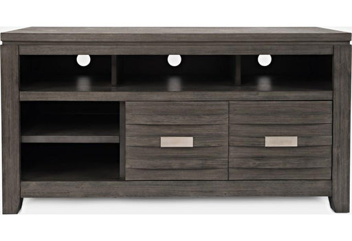 "Skyline Brushed Grey 50"" TV Stand - Austin's Couch Potatoes Furniture"
