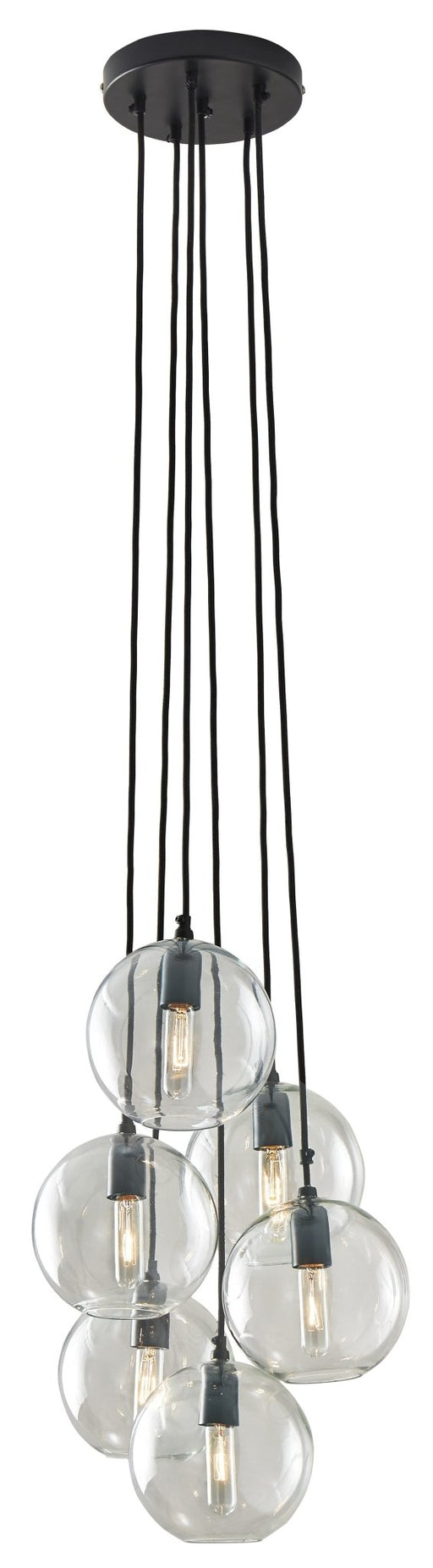 Sybil Glass Pendant Light - Austin's Couch Potatoes Furniture