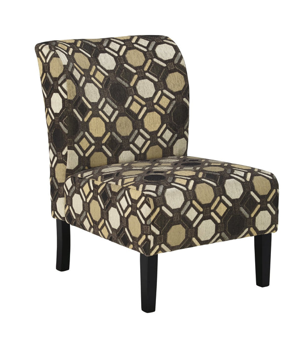 Tibbee Slate Accent Chair - Austin's Couch Potatoes Furniture