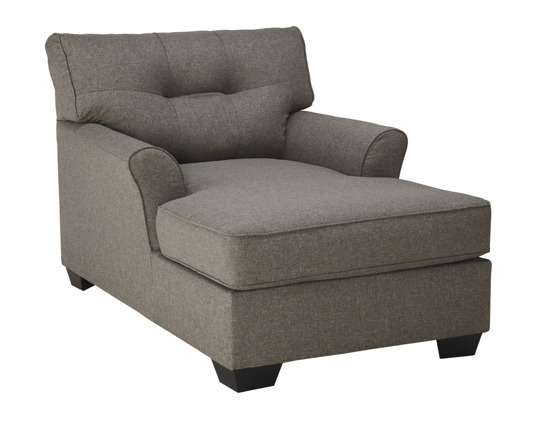 Tibbee Slate Chaise - Austin's Couch Potatoes Furniture