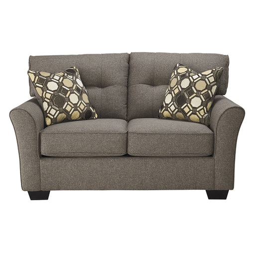 Tibbee Slate Loveseat - Austin's Couch Potatoes Furniture