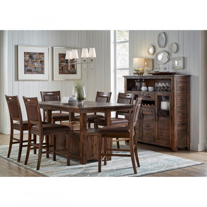 Valley 7 PC Dining Set - Austin's Couch Potatoes Furniture