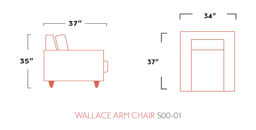 Wallace Chair Leather - Austin's Couch Potatoes Furniture