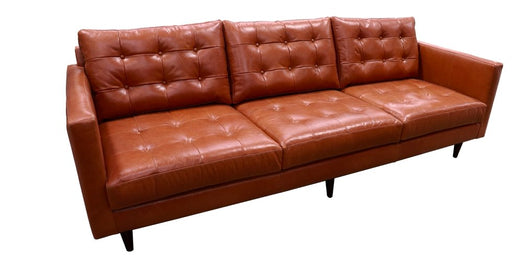 Wallace Leather Estate Sofa - Austin's Couch Potatoes Furniture
