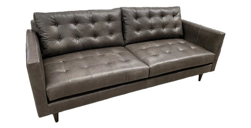 Wallace Leather Sofa - Austin's Couch Potatoes Furniture