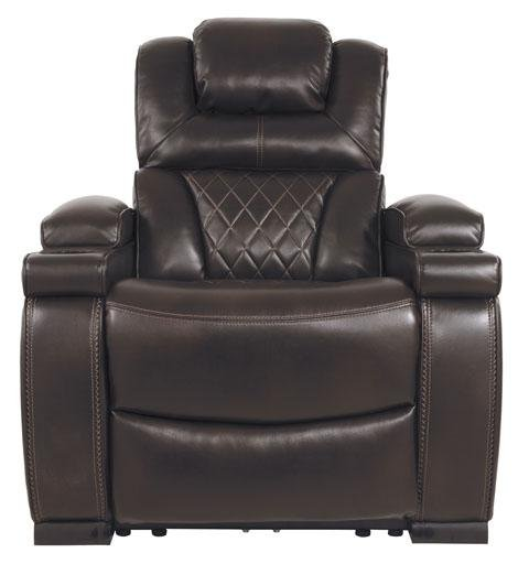 West Side Recliner with Power Headrest - Austin's Couch Potatoes Furniture