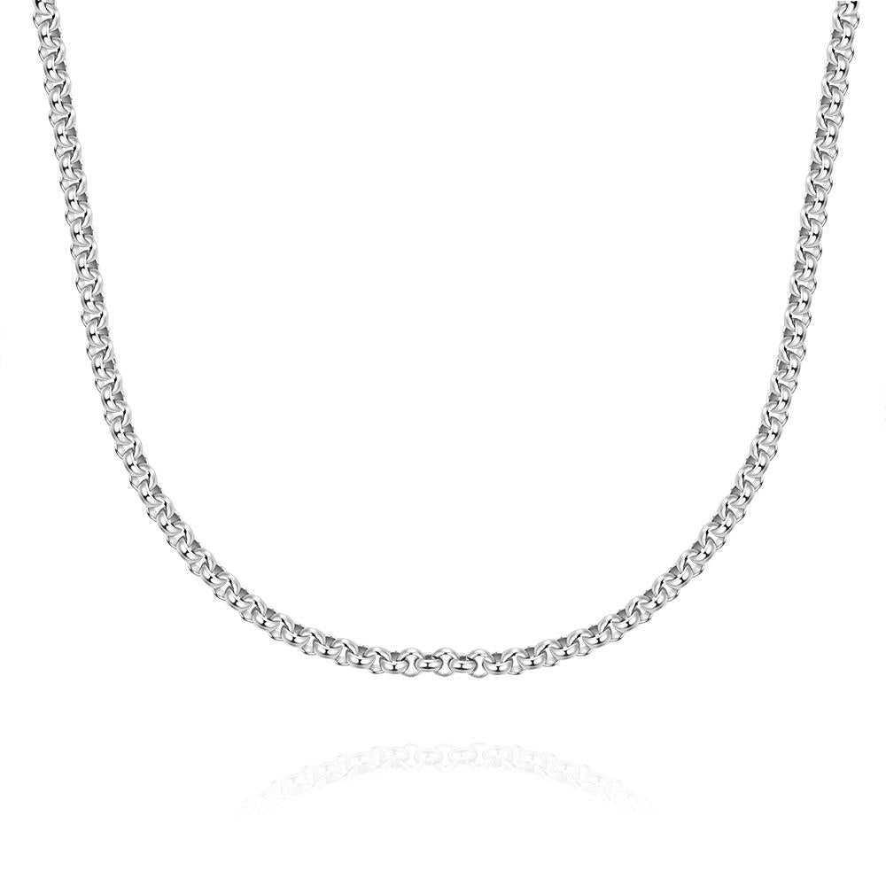 Stainless Steel Classic Link Chain Necklace