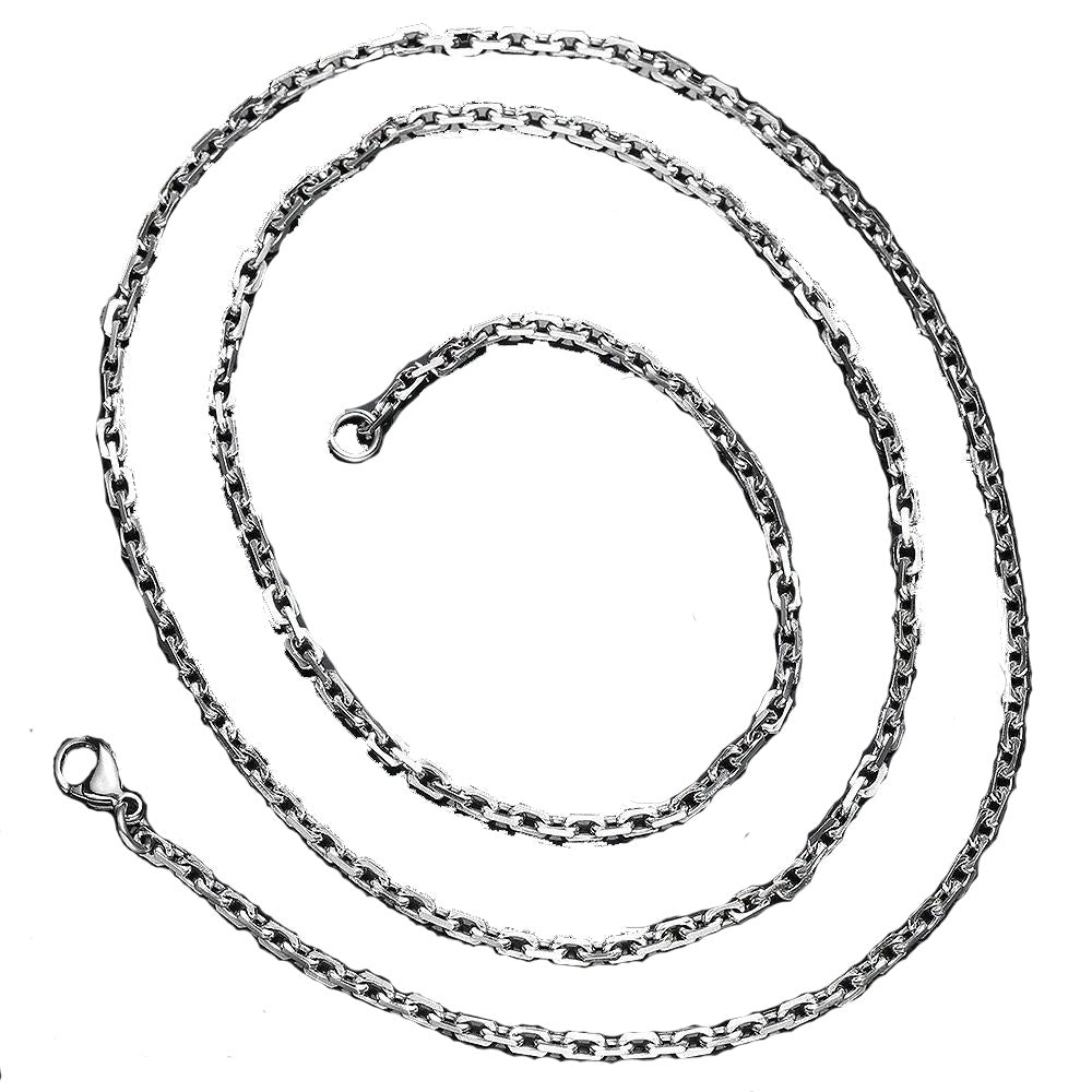 Stainless Steel 2.3mm Link Chain Necklace
