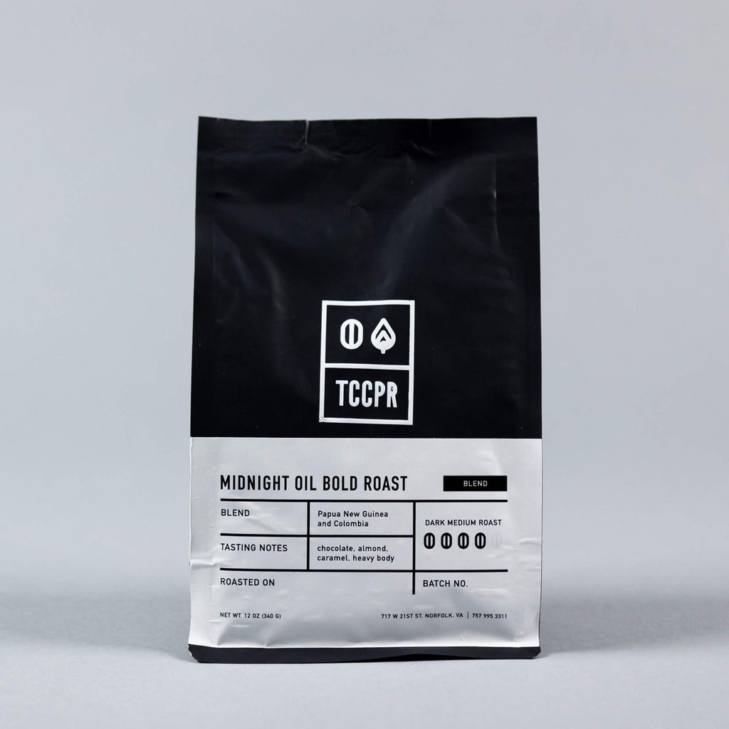 12oz Midnight Oil Bold Roast