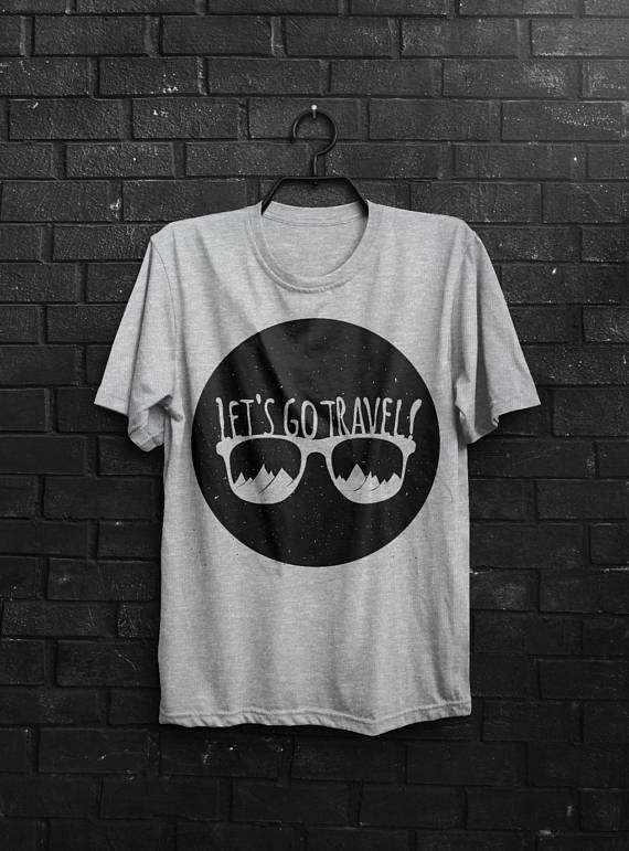 Let's Go Travel Men's T-Shirt