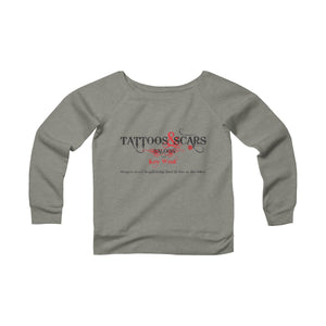 Women's Fleece Off The Shoulder Sweatshirt