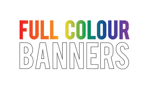 Full Colour Vinyl Banners & Backdrops