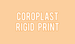 Coroplast Sign
