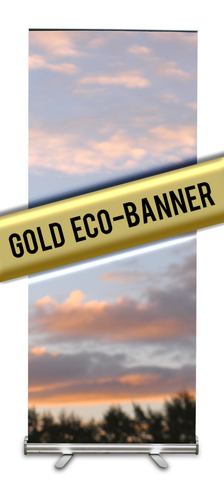 Gold Eco-Banner Stand