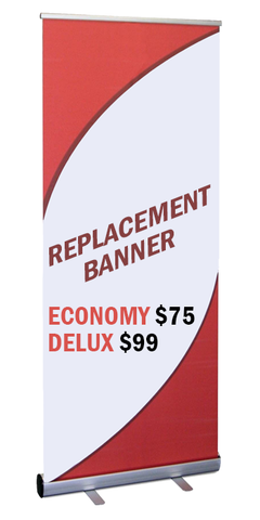 Retractable Banner Replacement