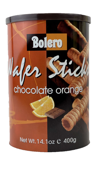 CHOCOLATE ORANGE WAFER STICKS
