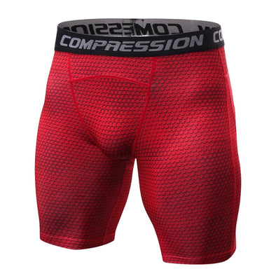 Breathable Men's Compression Shorts For MMA & Crossfit Workout