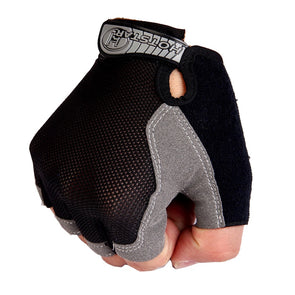Men's Anti Slip Weight Lifting Gloves Half Finger