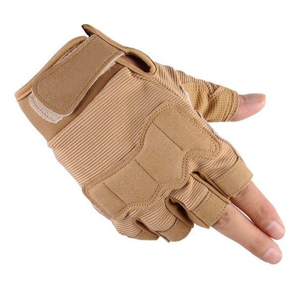 Tactical Sports Fitness Weight Lifting Gym Gloves for Men