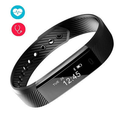 Smart Bracelet Fitness Pedometer For Iphone Snapdragon Outdoor Sport Heart Rate Sleep Monitor USB Charging Digital Watch Hot