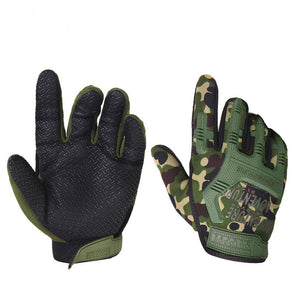Men's Camouflage Combat Tactical Training Gloves