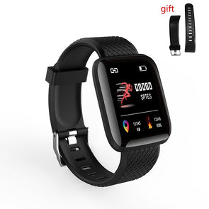 Waterproof Smart Wristband With Real-time Heart Rate Blood Pressure Sensor