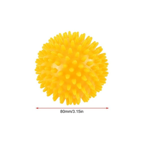 Durable PVC Spiky Massage Ball Trigger Point Sport Fitness Hand Foot Pain Relief