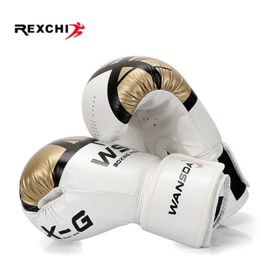 REXCHI Kick Boxing Gloves for Men + Women