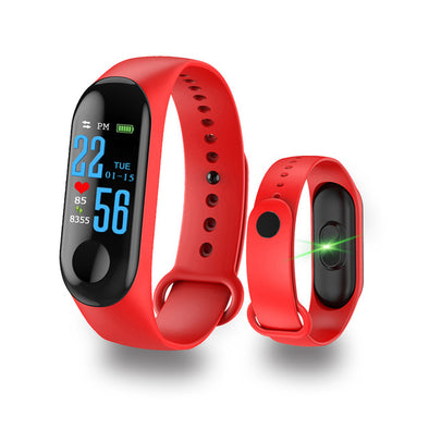 Smart Bracelet Sports Pedometer Watch Fitness Running Walking Tracker Heart Rate Pedometer Smart Band