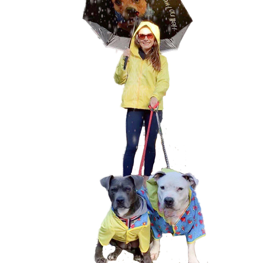 Matching Human Reversible Raincoat