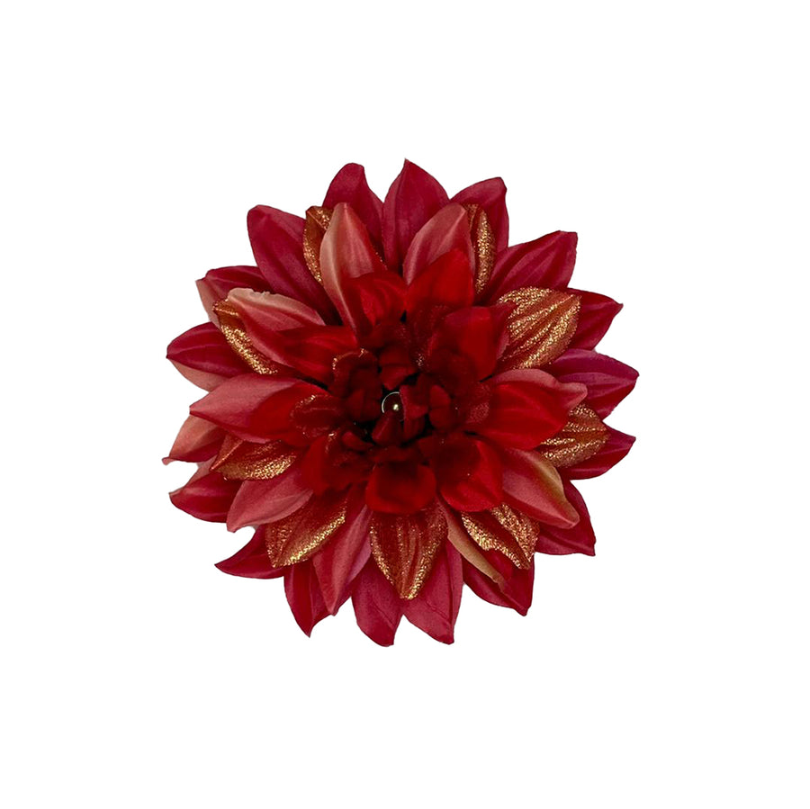 Red Dahlia- Large
