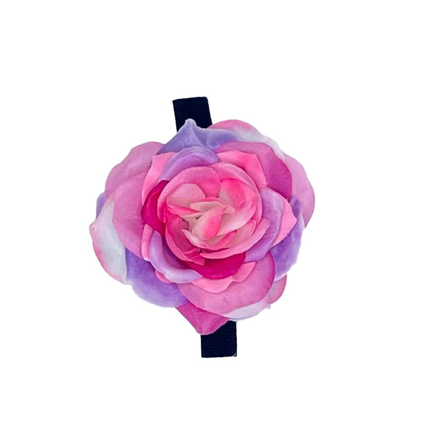 Purple/Pink/White Rose - Medium