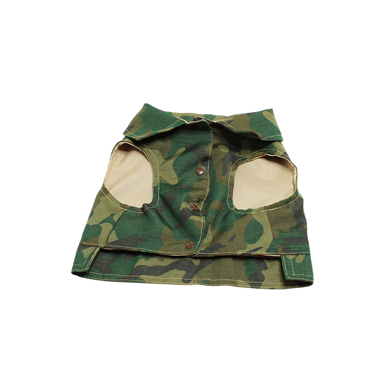 Camo vest for small to medium pups