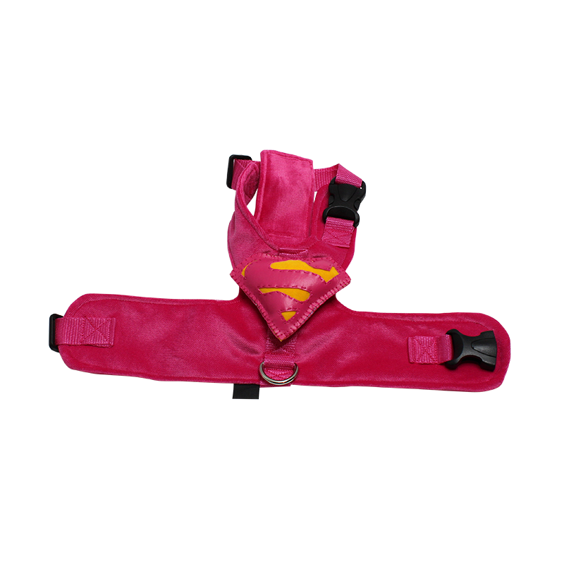Velvety Dog Harness with Attachment