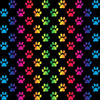 PAWjama - Pre-Order Rainbow Paws -  Summer Paw-Shirt (Red Hoodie/V-Neck)