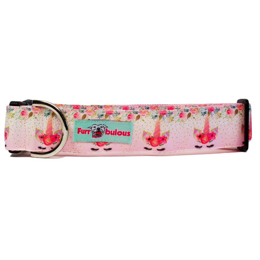Unicorn Pink Sport Collar 1.5""