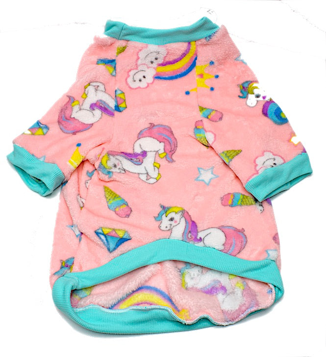 PAW-JAMMIES- Every girl's dream Unicorn Fleece