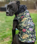Self Love Camo - PAWJama with Black Trim/Sleeves
