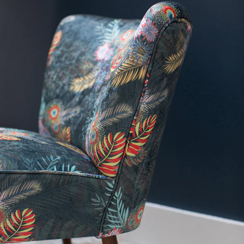 Bouquet Cocktail Chair by @vintique_upholstery