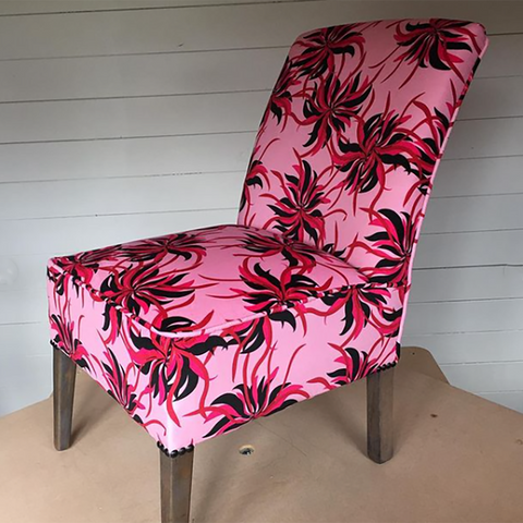 Sonia @upholsterydiaries Flare Chair