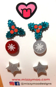 Festive stud packs