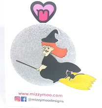 Load image into Gallery viewer, Witch on the broom