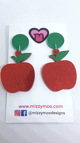 Red apple dangles